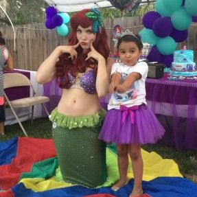 silly mermaid birthday kids party los angeles ariel