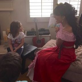 story time princess character elena avalor elana birthday party