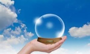 Crystal Ball, See your Future, travel to the future