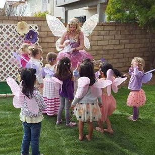 birthday party fairy princess los angeles