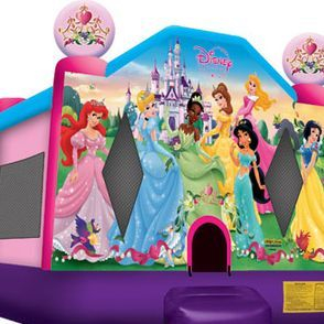 Disney Princess house bounce (13'x13')
