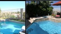 pool and spa renovation by Paragon Pools