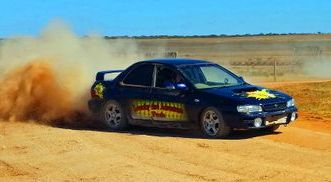 Rally hire driving school Rush