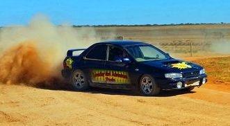 Rally hire driving school Rush