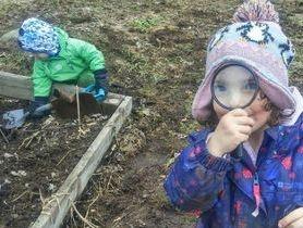 Kindergarten Outdoor Learning & Inquiry