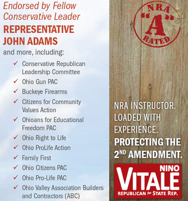 NRA Endorses Nino Vitale with A Rating