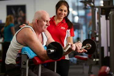 Older can get fit with a personal trainer
