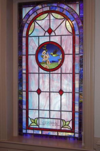 Stained Glass Windows At River Road United Methodist