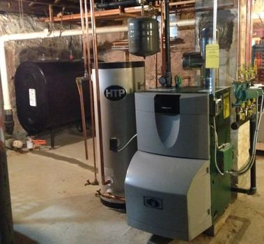 New Peerless Boiler Installation