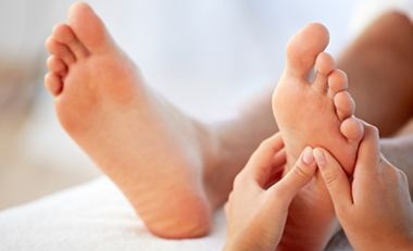 Reflexology is a relaxing healing therapy