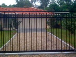 Sliding gate cheaper option