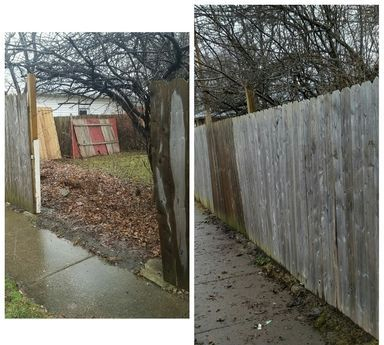 fence repair Yard Barber Lawn  Service LLC