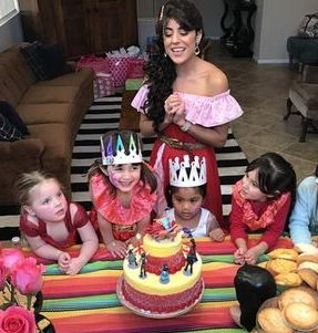 elena princess cake party birthday spanish best los angeles