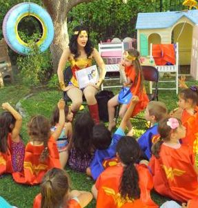 wonder woman party birthday los angeles kids superhero ideas