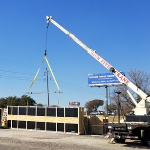 Tx-Dot LED msg board delivery