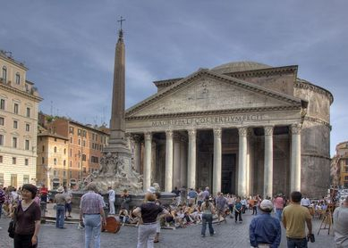 Colosseum & City Walk Tour - the Pantheon