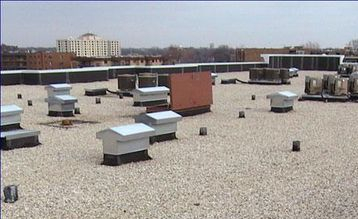 Commercial projects on EPD and TPO Roofs