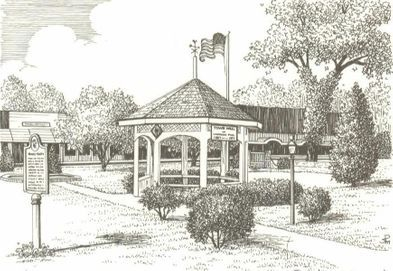 Downtown Gazebos in Bartow