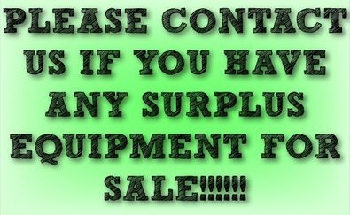 Please contact us if you have any used metal working machinery for sale