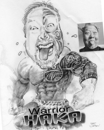 You want to be a Haka Warrior??? Your wish is my command!