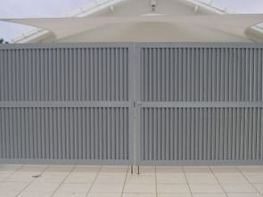 Aluminium double gates