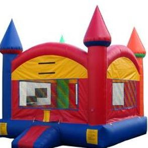 Multicolor Castle bounce house (13'x13')