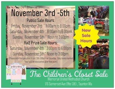 The Children S Closet Sale