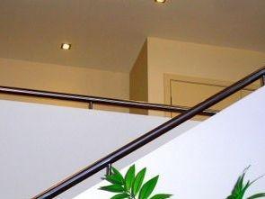 Hobb rails on a stairway