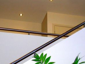 Hobb rails on a stairway
