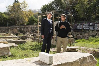 US Ambassador Geoff.Pyatt at the ancient agora in Athens