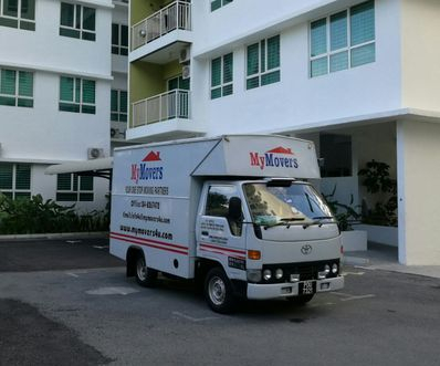 1 Ton Truck for transportation.