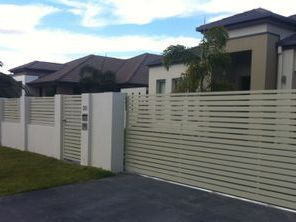 Front fences made to measure