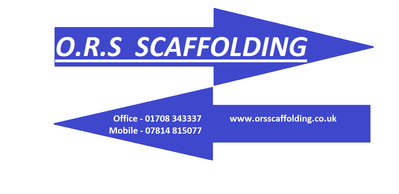 Scaffolding Banner