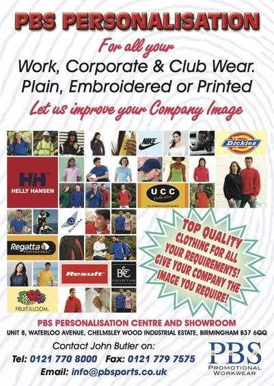 PBS Leaflet Workwear