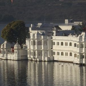 "src=""australian womens travel.jpg alt=womens tours, detail of lake palace hotel, udaipur , India"