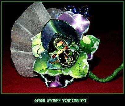 Green Lantern Boutonniere