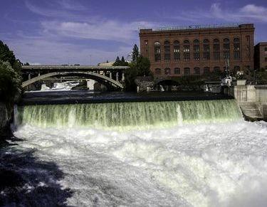 Beautiful Spokane Falls