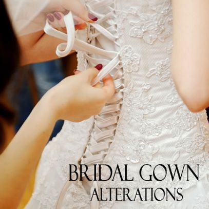 Bridal Gown Alterations and Fitting Service