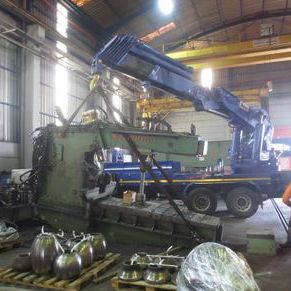 4000mm x 22mm Boldrini Ribo 18HY/4000 Hydraulic Flanger Turkey to Mexico