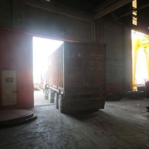 300 Ton x 4800mm Boldrini Hydraulic Dishing Press from Turkey to Mexico 1