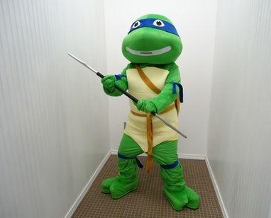 The Turtle Ninja Mascot
