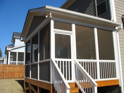 Removable Screened Porch Panels Raleigh, NC