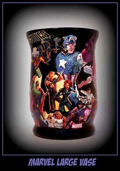 Small Comic Book vase
