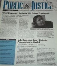 public justice newsletter