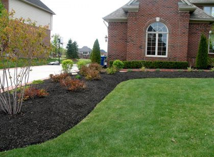 Landscaping Yard Barber Lawn service LLC