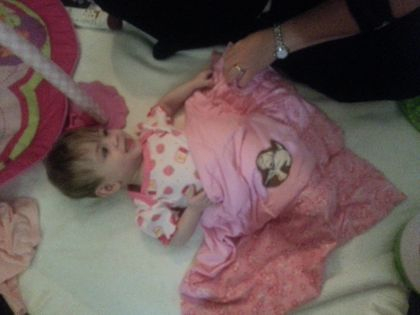 River, a 9month old with Cystic Fibrosis