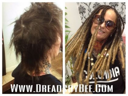Dreads by Bee is known for dreadlock hairstyles and repairing issues
