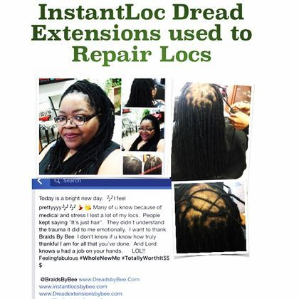 Braids By Bee is known to install dreadlocks in one day