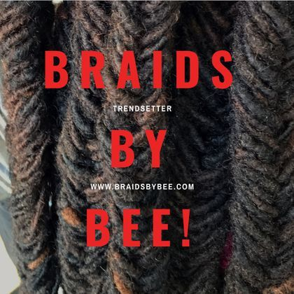 Braids by Bee is a hair specialist that performs hair transformation for clients with dreadlocks that are in need of restoration or need scalp treatment.
