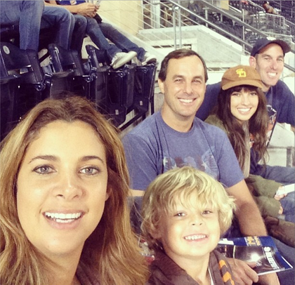 Denyse Attended the Padre game with some of the family on September 23,2013.